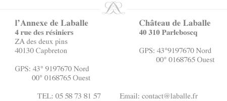 chateau Laballe conatct